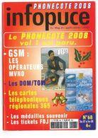 Revue Infopuce Décembre 2007 N° 68 - Phonecards