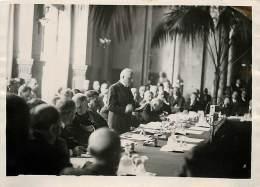 OUVERTURE DE LA CONFERENCE DE LAUSANNE DISCOUR DE MR MOTTA AVEC MR PAGANON MARTIN ET HERRIOT 17/06/1932 - Berühmtheiten