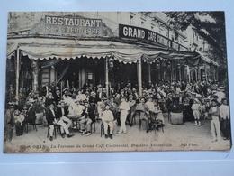 ORAN  La Terrasse Du Grand Café  Continental  Brasserie  Tantonville - Oran