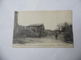 Cpa  Verneuil  Route De Vandières  Après La Seconde Bataille De La Marne Juillet 1918 - Autres Communes