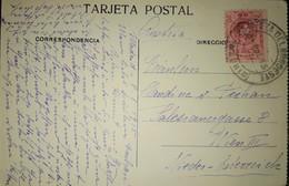 1915. ESTAFETA DEL NOROESTE Madrid Del 9 ENE 15. Postal Dirigida A Viena (Austria), Franqueada Con Sello De 10 C. Ed 269 - 1889-1931 Kingdom: Alphonse XIII
