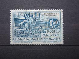 VEND BEAU TIMBRE DE SAINT-PIERRE ET MIQUELON N° 135 , X !!! - St.Pierre Et Miquelon