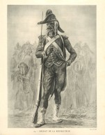 Photo  : SOLDAT DE LA REVOLUTION - Photo Viollet - War, Military