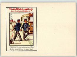 52701192 - Unfallbekaempfung Der Deutschen Reichspost, Omnibus - Berufe