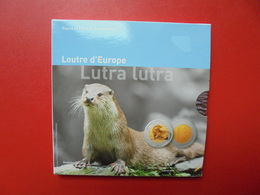 """LUXEMBOURG RARE !!! 3000 EXEMPLAIRES ! 5 EURO 2011 """"LOUTRE"""" - Luxembourg"""