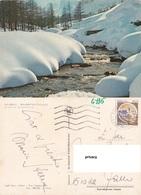 Dolomiti (Trentino) Scorcio Pittoresco. Comune  Timbro : 38030 Ziano Di Fiemme - Cartoline