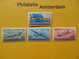 Germany East (DDR) 1956, AIRPLANES AVIONS VLIEGTUIGEN FLUGZEUGE: Mi 512-15, ** - Flugzeuge