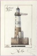 CPM - LE PHARE AR MEN - ILLUSTRATION J.Benoit HAMON - Edition Gulf Stream - Lighthouses