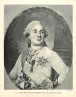 Photo  : LOUIS XVI A SON AVENEMENT (Dumesnil, Musée De Versailles) - Guerre, Militaire
