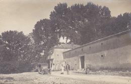 Carte Photo - Ferme En Algérie à Identifier, Automobile Brasier Modèle 1911, Animation - Pas Circulé - A Identifier