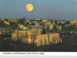 Asie > ISRAEL JERUSALEM  The Monastery Of The Cross At Night (Le Monastère De La Croix) ( Timbre Stamp ISRAEL - Israel