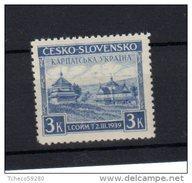 1939  Vue De Jasina Y 354 *  Cote 10€  ( Bien Centré +40%) - Czechoslovakia