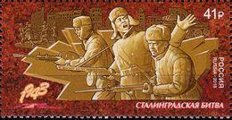 Russia, 2018, Way To Victory, Battle Of Stalingrad, WW II, MNH - 2. Weltkrieg