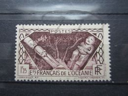 VEND BEAU TIMBRE DES ETABLISSEMENTS FRANCAIS DANS L'OCEANIE N° 108 , X !!! (a) - Océanie (Établissement De L') (1892-1958)