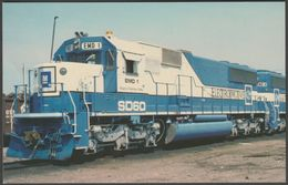 GM Electro-Motive Division SD60 Demonstrator - Railcards Postcard - Trains