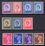 ISLE OF MAN 1958-1971 - Regional Stamps - Cmpt Set - MNH - Isle Of Man