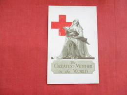 Red Cross Greatest Mother In World --corner Crease----ref 2847 - Red Cross