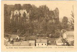 La Petite Suisse Luxembourgeoise --  LAROCHETTE (Fels) - Les Ruines Du Château - Larochette