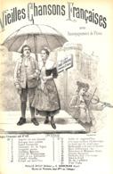 Les Portraits à La Mode Chanson, Partition Ancienne, Petit Format, Couverture Illustrée Tavernier - Scores & Partitions