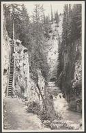 Johnson Canyon, Banff National Park, Alberta, Canada, C.1930 - Byron Harmon RPPC - Alberta