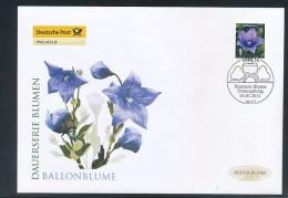 GERMANY Mi. Nr. 2835 Freimarke- Blumen - FDC - FDC: Briefe
