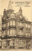 """OSTENDE-- Digue De Mer 46a -- Hôtel-Restaurant """" YPRIANA """"   (Propr:  C. MERLEVEDE ) - Oostende"""