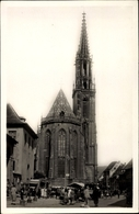 Cp Thann Haut Rhin, La Cathédrale, Ansicht Der Kathedrale - France