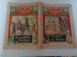 Guignol Cinéma De La Jeunesse N°161 Du 18 Janvier 1931 Aux Prises Avec Les Touareg Réf 35 - Magazines