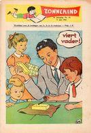 Zonnekind - Weekblad - 4é Jaargag Nr. 24 - 11 Juni 1961 - Livres, BD, Revues
