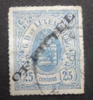 LUXEMBURG  1875  Dienstzegels  Nr. 6 - I A      Gestempeld    CW  180,00 - Officials