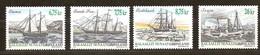 Groenland 2003 Yvertn° 386-389 *** MNH Cote 21,50 Euro Bateaux Boten Ships - Groenland