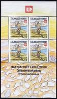 Groenland 2000 Yvertn° Bloc 19 *** MNH Cote 9,00 Euro Hafnia '01 - Blocs