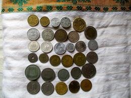 Maghreb: 32 Pièces (Algérie, Libye,Maroc Et Tunisie) 2 Pièces Argent - Coins & Banknotes