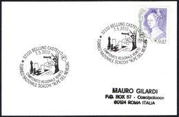 """CHESS - ITALIA BELLUNO 2010 - TORNEO NAZIONALE SCACCHI """"ALPE DEL NEVEGAL"""" - SMALL SIZE CARD - Scacchi"""