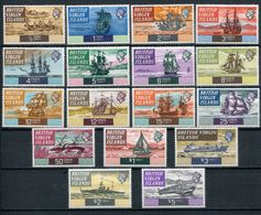 1970-ISOLE VERGINI-DEFINITIVE   - 17 VAL. -M.N.H.-LUXE !! - British Virgin Islands