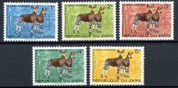 République Du Zaïre   875 - 879   XX    --- - Zaïre