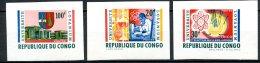 République Du Congo   526A - 528A   XX   ---    TTB - Republic Of Congo (1960-64)