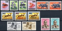 République Du Congo   532 - 544   XX   ---    Bel état - Republic Of Congo (1960-64)
