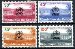 République Démocratique Du Congo   625 - 628   XX    --- - Democratic Republic Of Congo (1964-71)