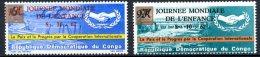 République Démocratique Du Congo   658 - 659   XX    --- - République Démocratique Du Congo (1964-71)