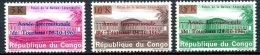 République Démocratique Du Congo   660 - 662   XX    --- - Democratic Republic Of Congo (1964-71)