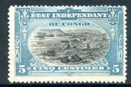 Etat Indépendant Du Congo   14   X   ---   TTB  --  Faible Trace Charnière... - Congo Belge