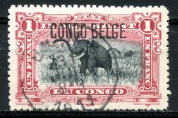 Congo Belge   46   Obl   ---   Type II - Congo Belge