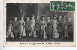 DEDICACE - SOUVENIR DU ROYAUME DE LILLIPUT PARIS - DEDICACEE / AUTOGRAPHE - Spectacle