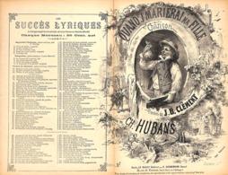 Quand J' Marierai Ma Fille. Chanson, Partition Ancienne, Petit  Format, Couverture De Barbizet. - Scores & Partitions