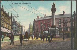 Moorhead, Sheffield, Yorkshire, 1908 - W H Smith Postcard - Sheffield