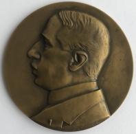 Médaille - Plaquette En Bronze. Jean Canneel. S. Sasserathe. 1929. 58 Mm - 76 Grm - Professionals / Firms
