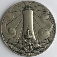 Médaille. J.C. Wienecke. Conférence De La Politique Européenne Des Classes Moyennes La Haye 1957. 60 Mm - 94 Grm - Professionals / Firms