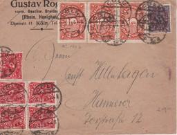 ALLEMAGNE 1923 LETTRE DE CÖLN - Briefe U. Dokumente