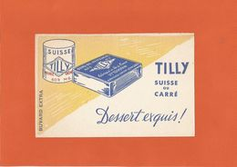 BUVARD - TILLY - Dessert Exquis Suisse Ou Carré - Produits Laitiers